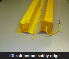IDI soft bottom safety edge